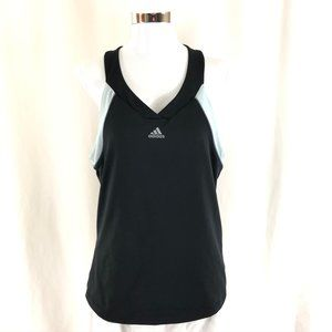 Adidas Women Tank Top Built In Bra V Neck Work Out